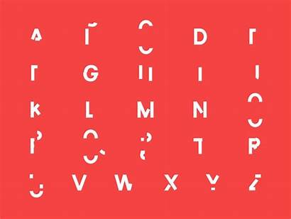 Abc Alphabet Dribbble Font Vector Fonts