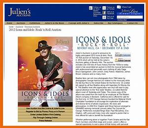 Julien's Auctions 'Icons & Idols – Rock N Roll' Catalog ...
