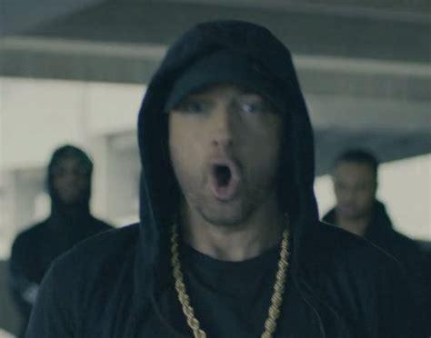 Eminem Defends Hillary, Attacks 'orange' Trump At