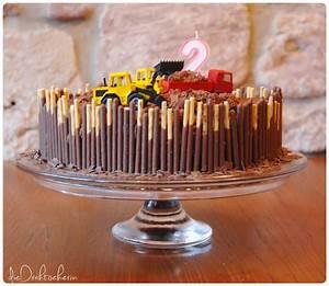 1 Geburtstag Kuchen Bagger Jungen Torte Geburtstag Pinterest