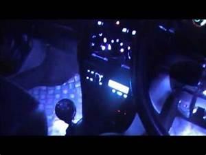MG ZR Interior Neon Lighting Project
