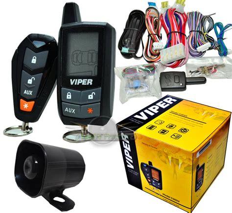 Viper Way Car Alarm Security System Remote