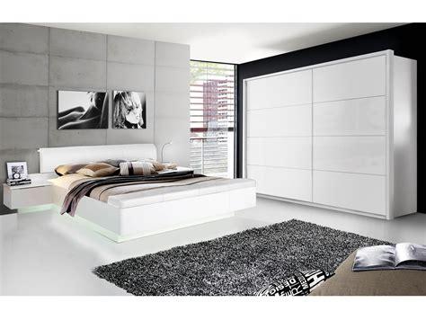Weißes Schlafzimmer Komplett by Silent Komplett Schlafzimmer Weiss Hochglanz 4 Teilig 200 Cm