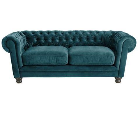 Chesterfield Samt-sofa Sally (2-sitzer)