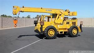 Grove Rt49 10 Ton Propane Rough Terrain Crane For Sale