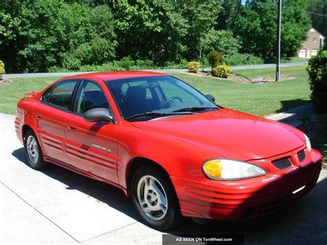 2002 Pontiac Grand Am Se Sedan 4 Door 2 2l