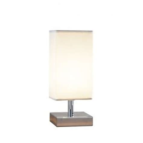 small touch l table l with white shade 60w touch l ebay