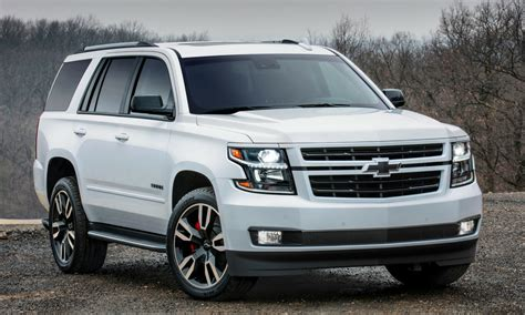 chevrolet reveals powerful tahoe rst special edition