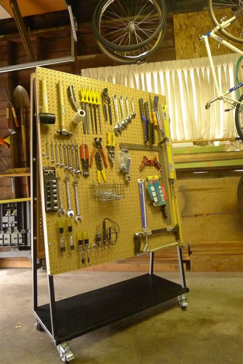 build  peg board tool cart  brad justinen  steps  pictures