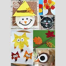 24 Super Fun Preschool Fall Crafts  Crafts For Beginner Church  Kids Fall Crafts, Preschool