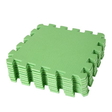 9pcs eco soft foam tile interlocking floor play