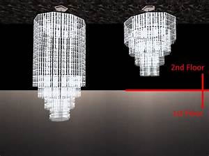 mod the sims the vertex crystal chandeliers With sims 2 floor lamp