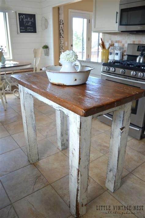rustic wood kitchen island rustic kitchen island vintage nest 5029