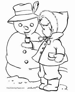 Preschool Winter Coloring Pages – AZ Coloring Pages ...
