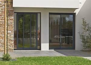 Fenetre Alu Noir : aluminium primoalu coulissant swao ~ Edinachiropracticcenter.com Idées de Décoration
