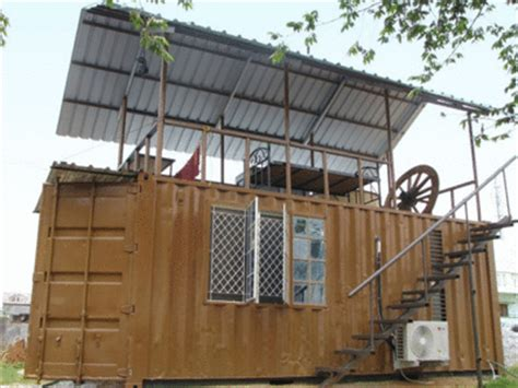 container living  chic times  india