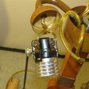 How To Wire A Lamp With Two Bulb Sockets