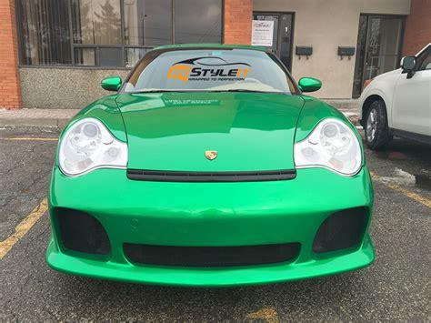 green porsche 911 envy green porsche 911 turbo vehicle customization shop