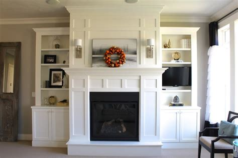 built ins around fireplace fireplace mantels and surrounds woodworking projects plans