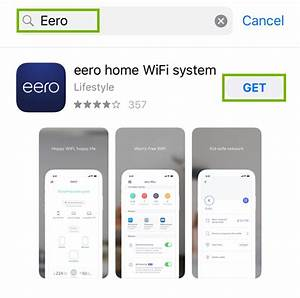 How To Install The Eero Home Wifi System App