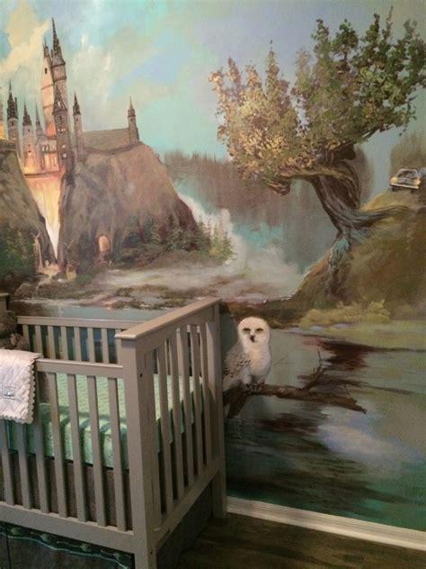 harry potter inspired nursery project nursery