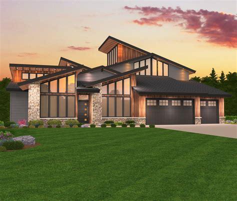 Maxon House Plan Modern Three Story House Plan by Mark