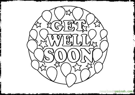 get color get well soon coloring pages to and print for free