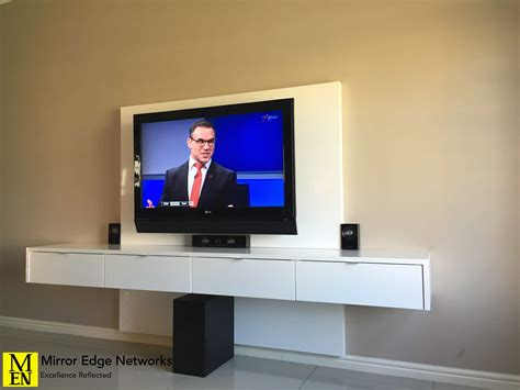 Ode Floating Television Units  Mirror Edge Networks