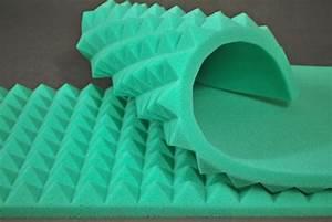 Mousse Isolation Acoustique : mousse acoustique pyramidale couleur 90cm 45cm 7cm ~ Melissatoandfro.com Idées de Décoration
