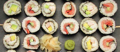 cours cuisine sushi cours de cuisine japonaise 75 atelier cuisine sushi