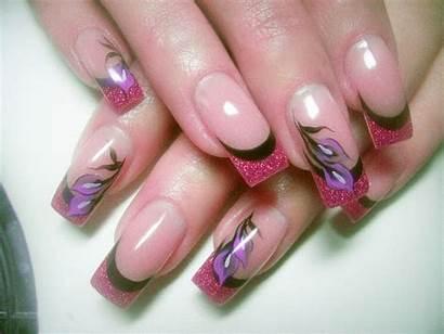 Nail Acrylic Nails Designs Gel Stiletto Salon