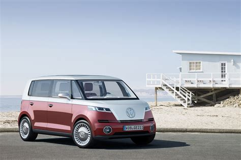 volkswagen bulli vw bulli concept is new take on the microbus the torque
