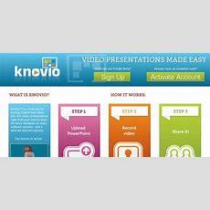 Knovio  Transforma Powerpoint En Videopresentaciones Con Contenido Sincronizado