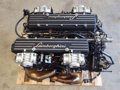 lamborghini murcielago roadster   complete engine