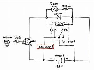 Relays Switched And Loaded From Same Power Source