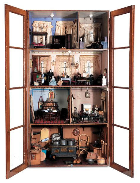 collectible buildings jj 23 24 antique dolls and toys of lego session 1 35 a late 19th century cabinet doll house with