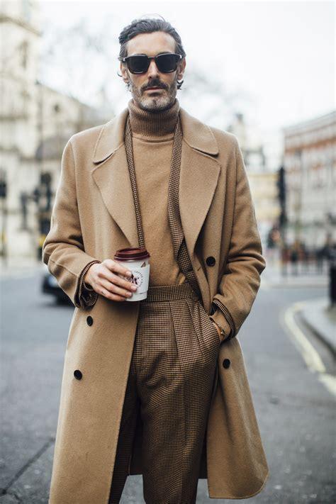 street fashion london fashion week mens jesien zima  elle man meska moda fryzury