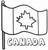 Flag Canadian Coloring Canada Flags Drawing Printable Clipart Cfl Getdrawings Colors Colorings Duathlongijon sketch template