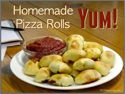 pizza rolls  delicious  healthy recipe
