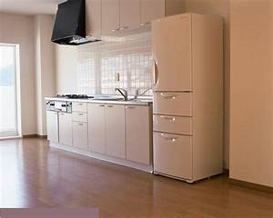 Simple Design Straight Design Kitchen Cabinet Home