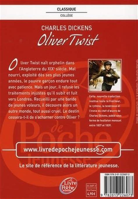 Oliver Twist Resume Francais by Livre Oliver Twist Charles Dickens