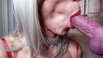 Ashemaletube Cum Swallow Shemale Blowjob Blonde