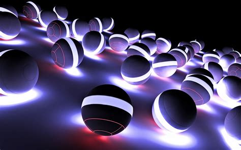 Free Full Hd 3d Balls Wallpapers Mobile Download