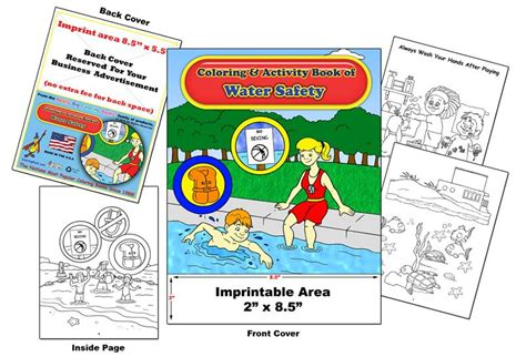 coloring books custom imprint promotional coloring books
