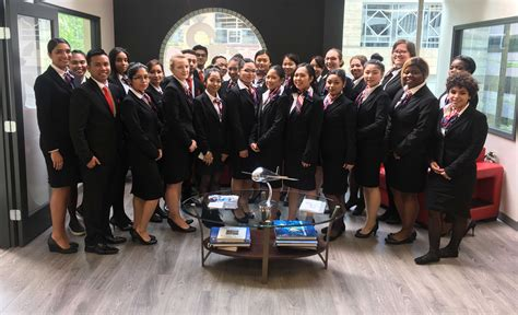 student blog   flight attendant program helped