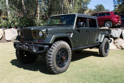 Jeep Wrangler Crew Chief by Jeep Crew Chief Concept Vehicle Jk Forum
