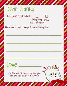 dear santa letter printable santa letter santa letter With dear santa template kindergarten letter