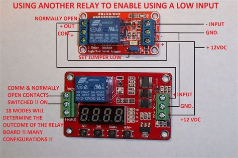 12v dc multifunction self lock relay plc cycle timer module delay time switch