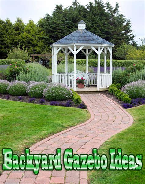 Backyard Gazebo Backyard Gazebo Ideas Corner