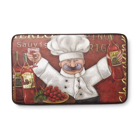 Chef Kitchen Rugs by Chef Mats Cushioned Kitchen Mat Chef Home Home Decor